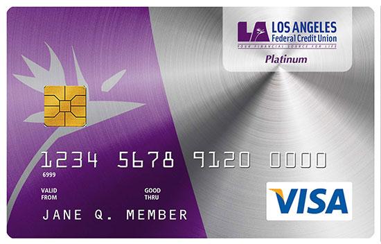 Low Rate Platinum Visa Var