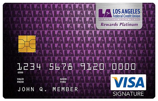 Signature Rewards Platinum Visa Var
